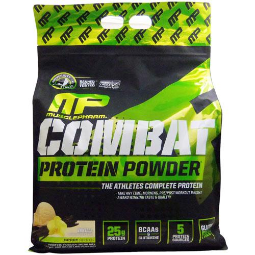 [ 超大容量4.5kg ]コンバットパウダー(タイムリリース型プロテイン) ※バニラ【Muscle Pharm Protein】