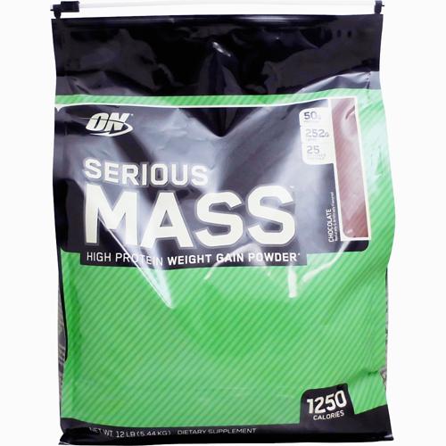 【送料無料】[ 超大容量5.4kg ]シリアスマス ウェイトゲイナー ※チョコレート [オプティマム/オプチマム ]