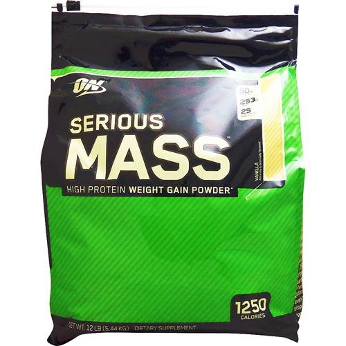 【送料無料】[ 超大容量5.4kg ]シリアスマス ウェイトゲイナー 5.44kg ※バニラ [オプティマム/オプチマム ]【weight gainer】