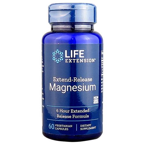 必要箇所に6時間持続的にマグネシウムを補給! LIFE EXTENSION エクステンドリリース・マグネシウム 250mg 60ベジカプセル[サプリメント/アメリカサプリ/サプマート/SupmartUSA/41738]