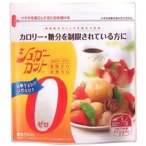 カロリーゼロのダイエット甘味料。ダイエット、カロリーコントロールに。浅田飴シュガーカットゼロ顆粒 徳用500g×6個(旧商品名 エリスリム)