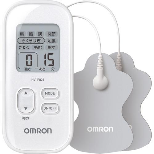 オムロンヘルスケア 低周波治療器 HV-F021-Wホワイト
