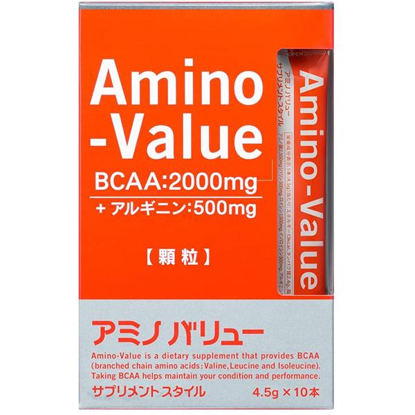 大塚製薬アミノバリューサプリメントスタイル4.5g×10袋(1箱)×20箱セット