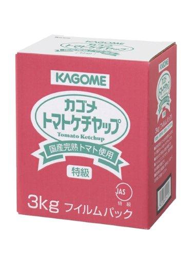 カゴメ株式会社カゴメ 全品最安値に挑戦 国産トマト100%使用トマトケチャップ 3kg×4個セット 国産品