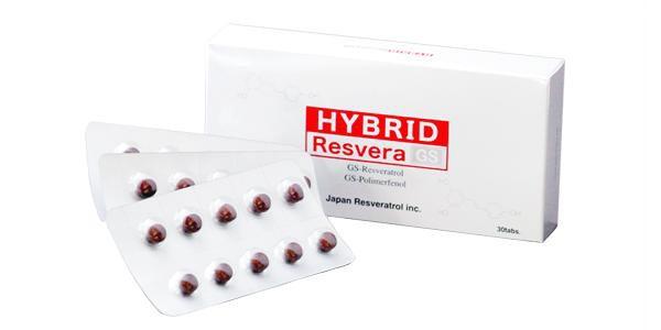 日本レスベラトロール ハイブリッドレスベラGS 30カプセル(約1ヶ月分)