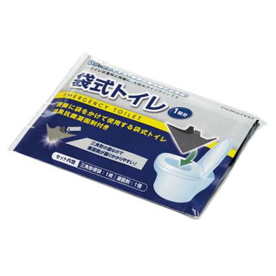 【送料無料】【防災特集】コクヨ KOKUYO 非常用トイレ<防災の達人>(1回分×100個) DRK-NT201