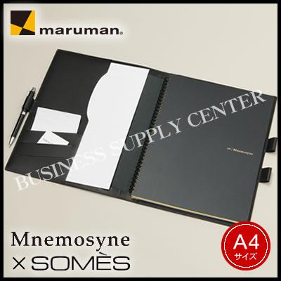 【送料無料】マルマン ノートカバー ニーモシネ×SOMES<A4/本革製> NC1199A