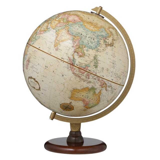 リプルーグル31573 地球儀 表面立体加工 球径30cm リノックス型
