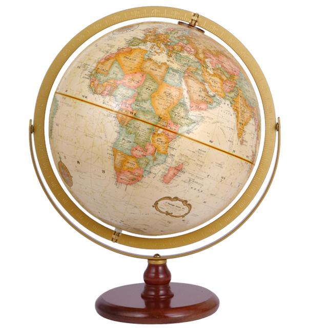 リプルーグル31874 地球儀 表面立体加工 球径30cm ラ・グレンジ型