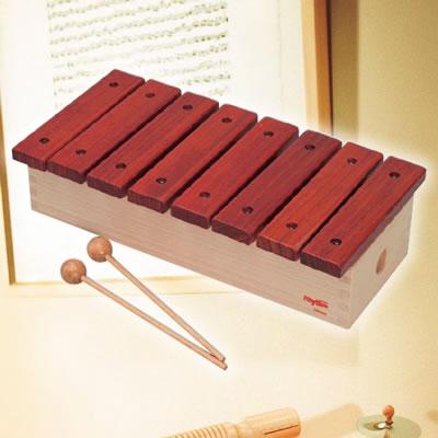【送料無料】ナカノ 知育楽器 Rhythm poco(リズム・ポコ) ふしぎ サイロフォン サウンドチャンパー 8音 RP-1200/XY 木琴