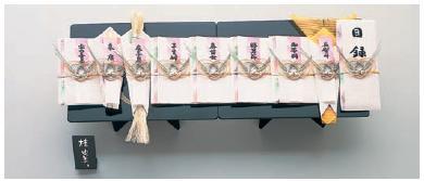 Yuinoh-A035-05 結納セット(桂由美コレクション・幸・七号・9品セット)