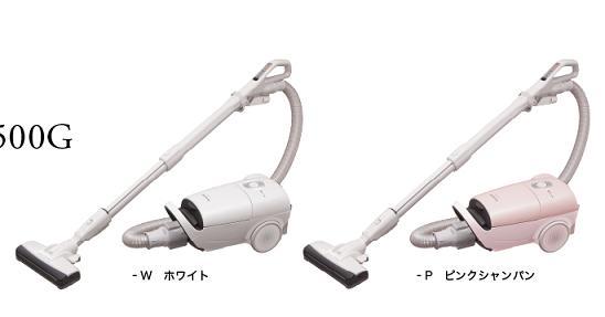 【新生活応援】PanasonicパナソニックMC-JP500G 紙パック式 掃除機【201502】