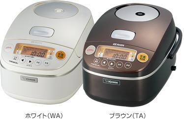 象印 NP-BC18-TA,WA 圧力IH炊飯ジャー 極め炊き(1升)
