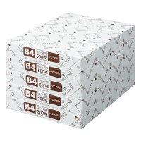 コクヨ コピー用紙(低価格タイプ・白色度80%) B4 500枚/包 5包 64g平米  PPC-WBB4C