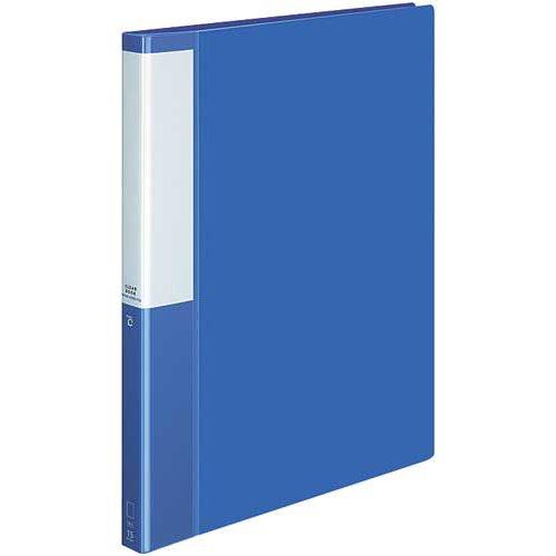 コクヨ クリヤーBポジティ替紙式青A4縦背幅27mm10冊