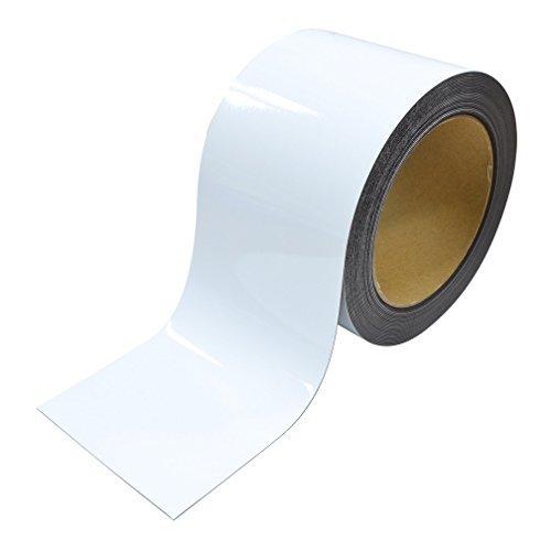 マグエックス マグネットロール 白ツヤ100幅10m巻 MSGR-08-100-10-W 00019562 【まとめ買い3巻セット】
