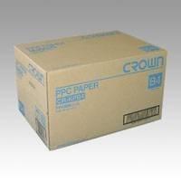 クラウン PPC用紙 B4 【5冊入】 CR-KPB4-W 00019586 【まとめ買い3セット】