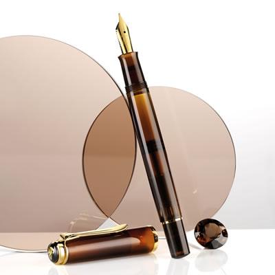 【送料無料】《特別生産品》ペリカン 万年筆 クラシック M200 スモーキークォーツ 1707SE