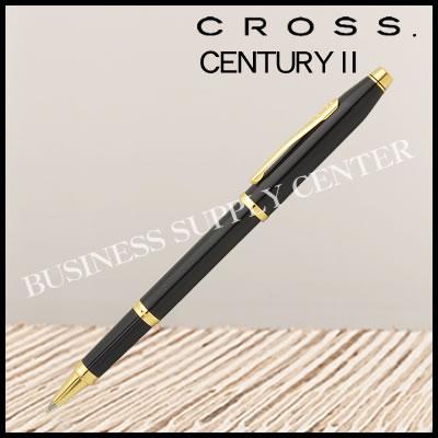 【送料無料】CROSS(クロス) セレクチップローラーボール CENTURY2(センチュリー2) ブラックラッカー 414-1