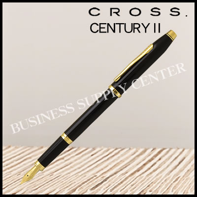 【送料無料】CROSS(クロス) 万年筆 CENTURY2(センチュリー2) ブラックラッカー 419-1