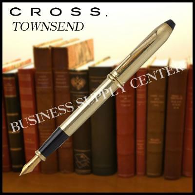 【送料無料】CROSS(クロス) 万年筆 TOWNSEND(タウンゼント) 10金張 706