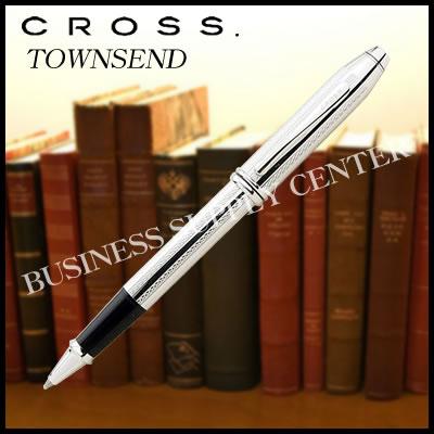 【送料無料】CROSS(クロス) セレクチップローラーボール TOWNSEND(タウンゼント) プラチナ AT0045-1