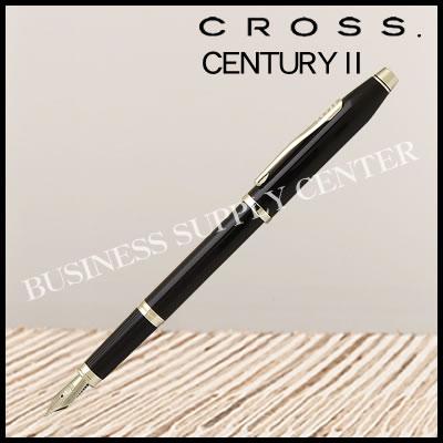 【送料無料】CROSS(クロス) 万年筆 CENTURY2(センチュリー2) ブラックラッカーロジウムプレート AT0086-102