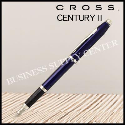 【送料無料】CROSS(クロス) 万年筆 CENTURY2(センチュリー2) トランスルーセントブルーラッカー AT0086-103