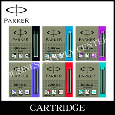 【送料無料】PARKER(パーカー) クインク・ミニカートリッジ<6本入×30個>