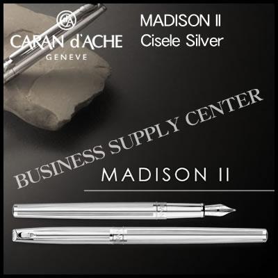 【送料無料】Caran d'Ache(カランダッシュ) 万年筆 MADISON II Cisele Silver(マディソン2 シゼレ シルバー) 4690-286【10P21Aug17】