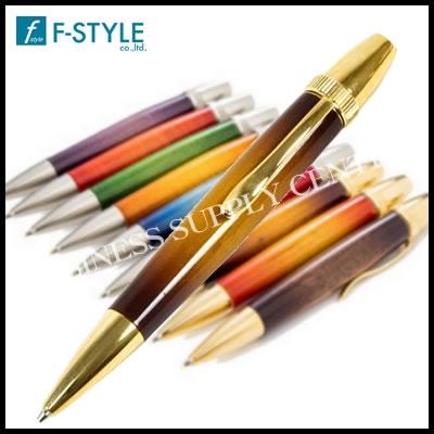 【送料無料】F-STYLE(エフスタイル) Air Brush Wood Pen San Burst(サンバーストギター塗装) 桜/チェリーウッド ボールペン TGT1610
