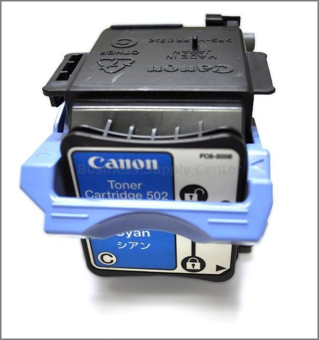 キャノン カートリッジ502 リサイクルトナー シアン 2本セット