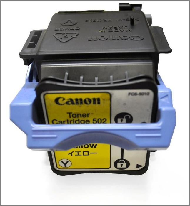キャノン カートリッジ502 リサイクルトナー イエロー 2本セット [CRG502Y]
