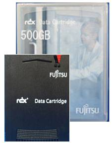 富士通 データカートリッジRDX 500GB (0162161)
