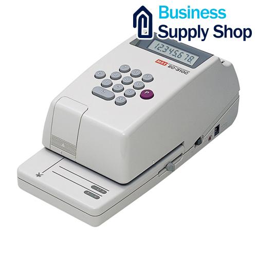 マックス 電子チェックライター EC-310C 8桁