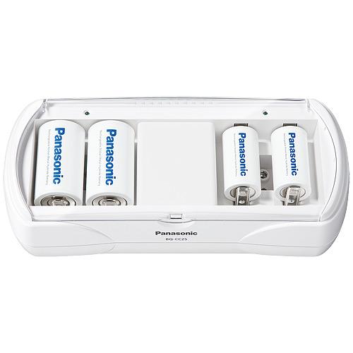 クリアランスsale!期間限定! Panasonic 大人気 ユニバーサル充電器BQ-CC25