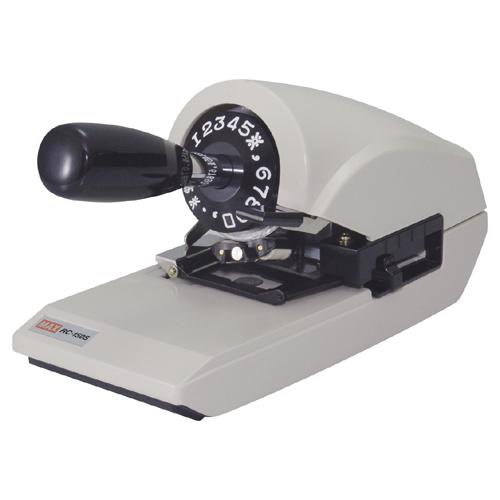 マックス(文具) ロータリーチェックライタ RC-150S