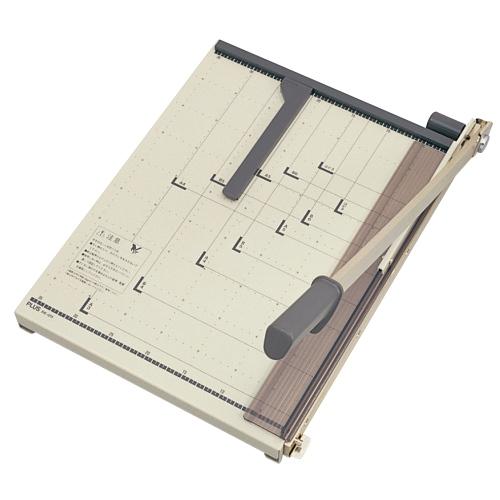 プラス(PLUS)裁断機 ペーパーカッター はがき/B6/A5/B5/A4/B4/A3 PK-011 26209