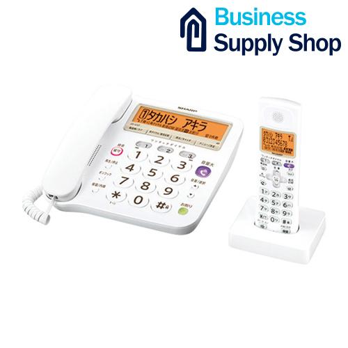 SHARP デジタルコードレス電話機 JD-V37CL