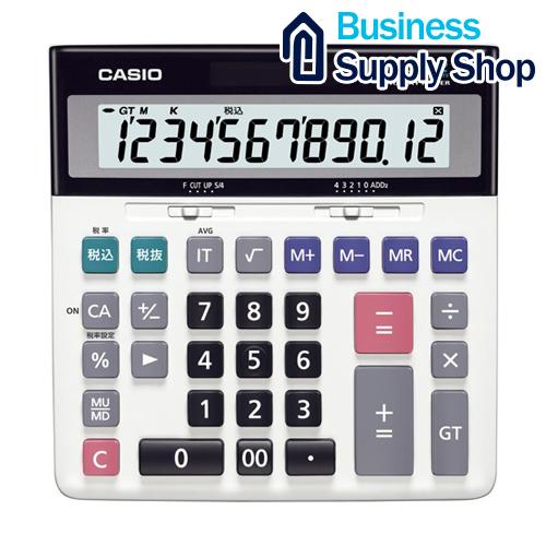 CASIO 特大表示電卓デスクタイプ DS-120TW 12桁