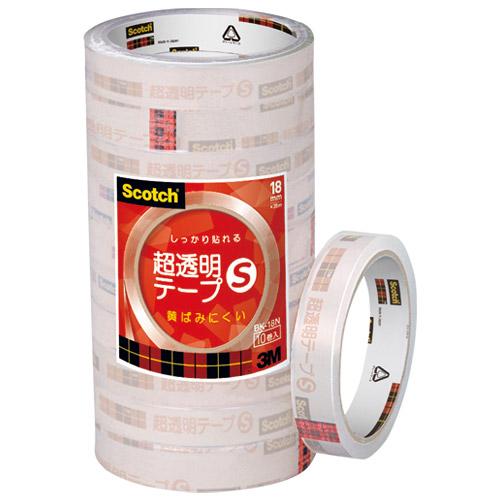 超透明テープS BK-18N 工業用包装 200巻