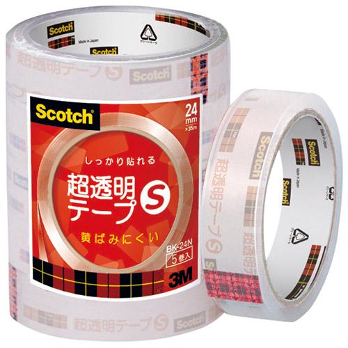 超透明テープS BK-24N 工業用包装 150巻