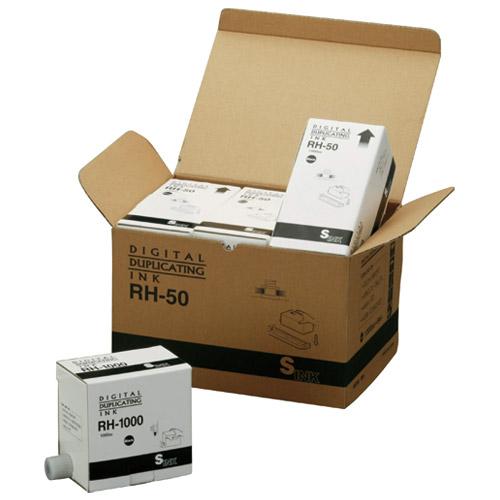 ノーブランド 軽印刷機汎用インク RH-1000 黒 5本