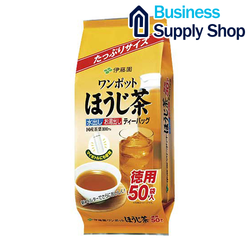 伊藤園 ワンポットほうじ茶ティーバッグ50袋 激安☆超特価 秀逸