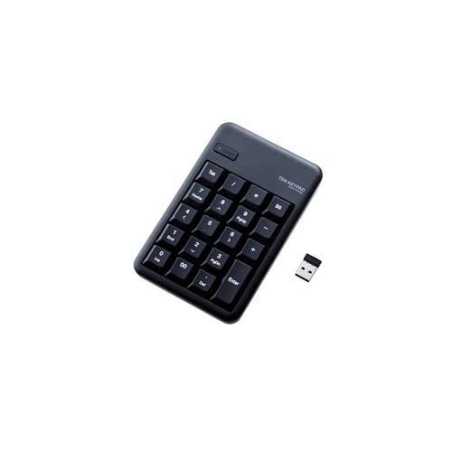 エレコム 無線テンキー 価格 アウトレット☆送料無料 TK-TDM017BK