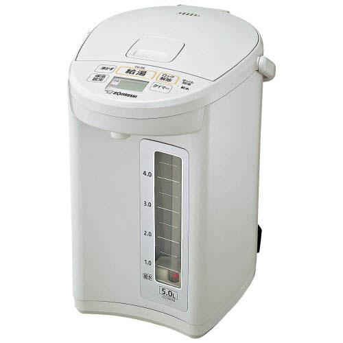 象印マホービン マイコン沸とう電動ポット CD-SE50-WG