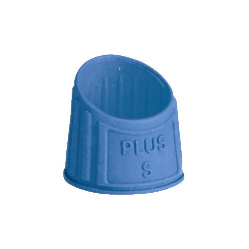 プラス 文具 PLUS セール 指サック 完売 メクリッコ ラバータイプ S 抗菌 ブルー 20個入 徳用 KM-401