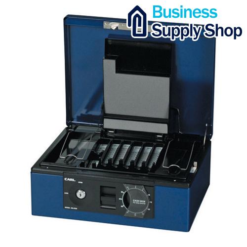カール キャッシュボックス CB-8760 ブルー
