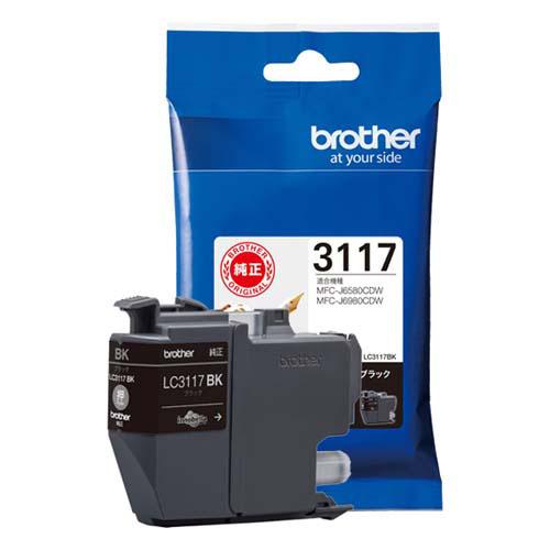 ブラザー インクカートリッジLC3117BK 日本限定 アウトレットセール 特集