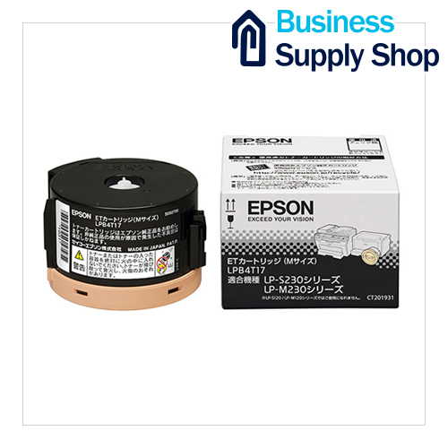 EPSON ETトナーカートリッジ ブラック LPB4T17